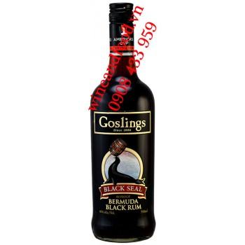 Rượu Rum đen Goslings Black Seal Bermuda 750ml