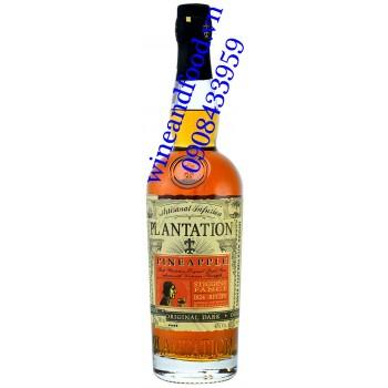 Rượu Rum Dứa (Thơm) Plantation Dark 700ml