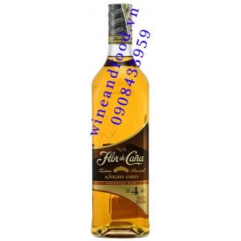 Rượu Rum Flor de Cana Anejo Oro 700ml