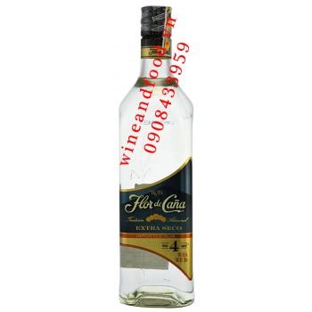 Rượu Rum Flor de Cana Extra Seco 700ml