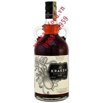 Rượu rum The Kraken Black Spiced 700ml