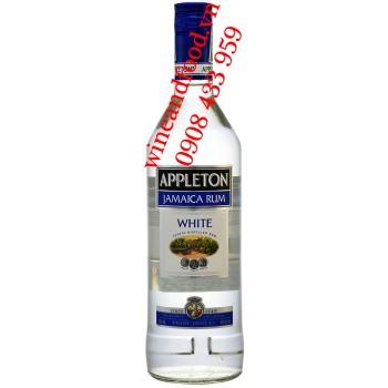 Rượu Rum trắng Appleton Jamaica White 750ml
