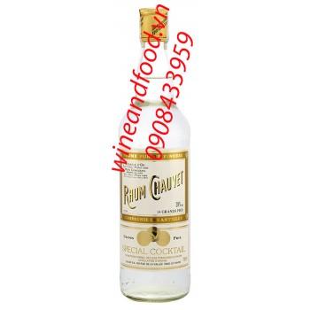 Rượu Rum trắng Chauvet 700ml
