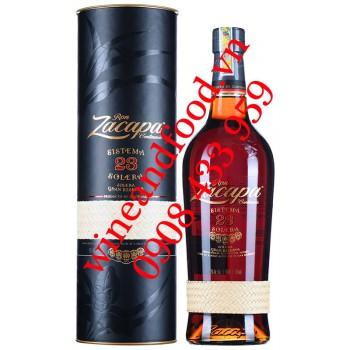 Rượu Rum Zacapa Sistema 23 Solera Gran Reserva 750ml