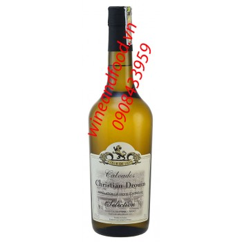 Rượu táo Calvados Christian Drouin Selection 750ml