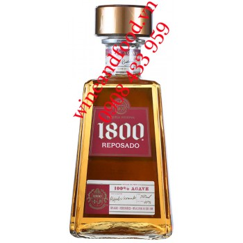 Rượu Tequila 1800 Reposado 750ml