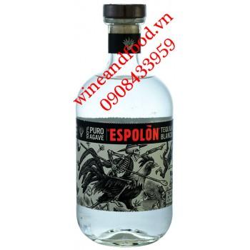 Rượu Tequila Espolon trắng 100% Puro Agave 750ml