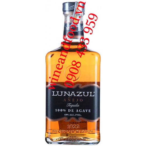 Rượu Tequila Lunazul Anejo 100% De Agave 750ml