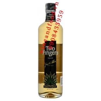 Rượu Two Fingers Gold Tequila 750ml