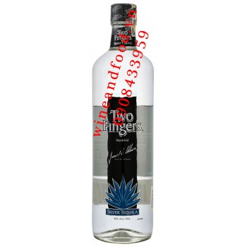 Rượu Two Fingers Silver Tequila 750ml