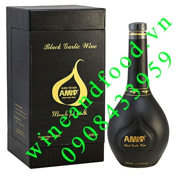 Rượu tỏi đen Amio 300ml