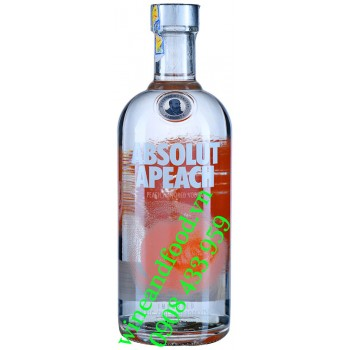Rượu Vodka Absolut Đào Apeach 750ml