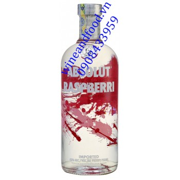 Rượu Vodka Absolut Raspberri 750ml