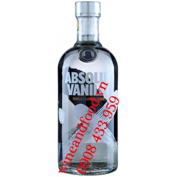 Rượu Vodka Absolut Vanilia 750ml