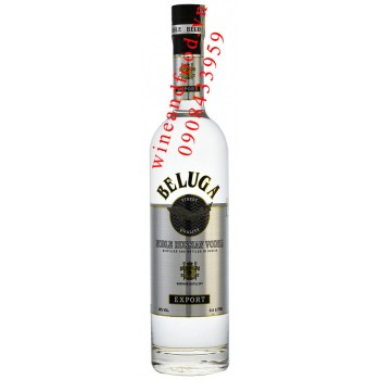 Rượu Vodka Beluga Noble Export 500ml