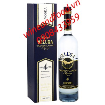 Rượu Vodka Beluga Transatlantic 700ml