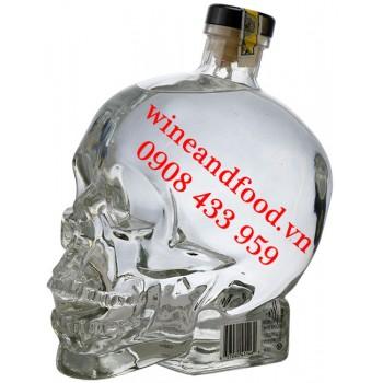 Rượu Vodka Đầu Lâu Crystal Head 1L75