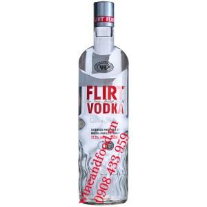Rượu Vodka Flirt Silver Fillered 37.5% 1 Lít