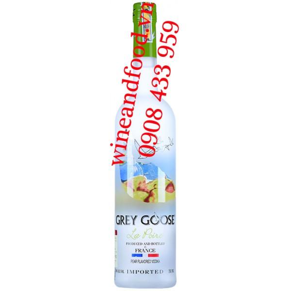 Rượu Vodka Lê Grey Goose La Poire 750ml