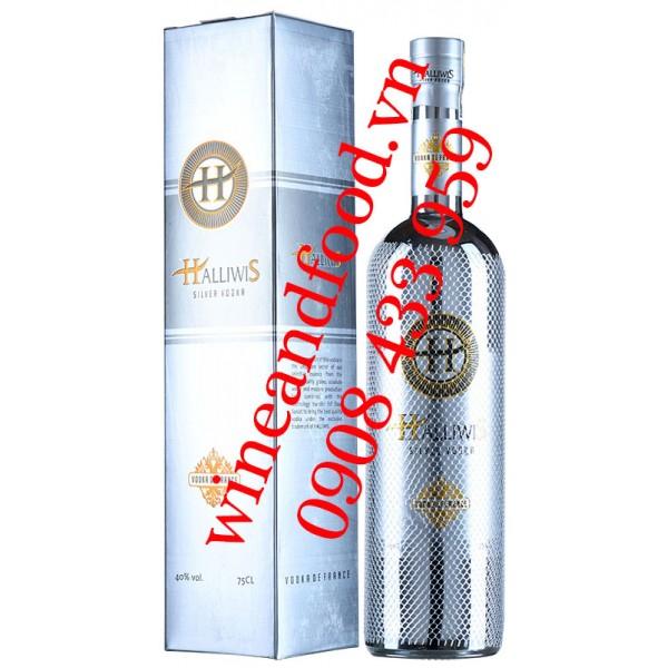 Rượu Vodka Halliwis Silver 75cl