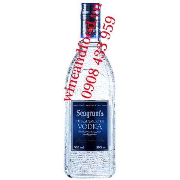 Rượu Vodka Seagram's Extra Smooth 500ml