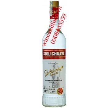 Rượu Vodka Stolichnaya Certified Alpha Grade 1L
