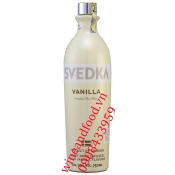 Rượu Vodka Svedka Vanilla 750ml