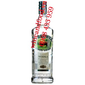 Rượu Vodka Zubrowka Bison Grass 700ml