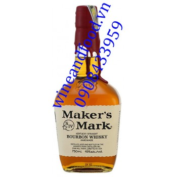 Rượu Bourbon Whisky Maker's Mark