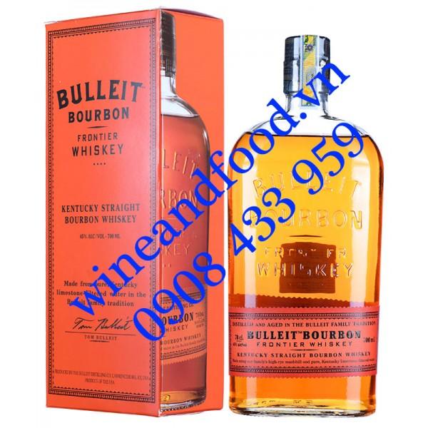 Rượu Bulleit Bourbon Whiskey 700ml