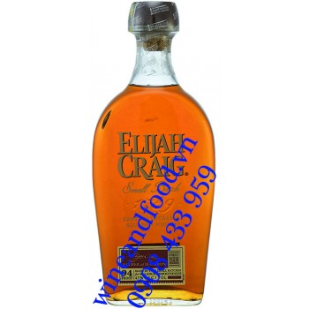 Rượu Elijah Craig Small Batch 94 Proof Kentucky Straight Bourbob Whiskey 750ml