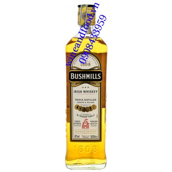 Rượu Irish Whiskey Bushmills 1608 Triple Distilled