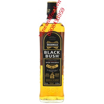 Rượu Irish Whiskey Bushmills Black Bush 1608 70cl