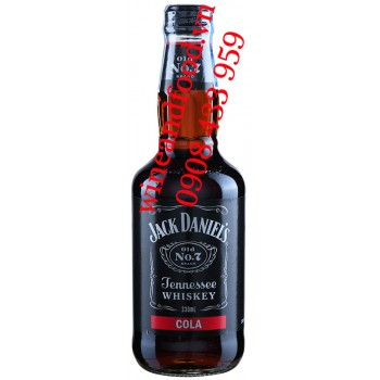 Rượu Jack Daniel's Cola No.7 Tennessee Whiskey 330ml