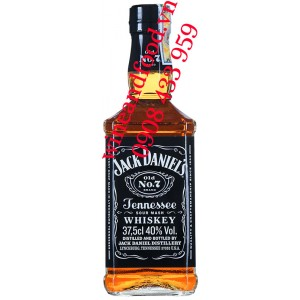 Rượu Jack Daniel's Old No.7 Tennessee Whiskey 375ml
