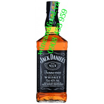 Rượu Jack Daniel's Old No 7 Tennessee Whiskey 70cl