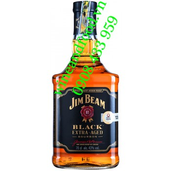 Rượu Jim Beam Black Extra Aged Kentucky Whiskey Bourbon 70cl