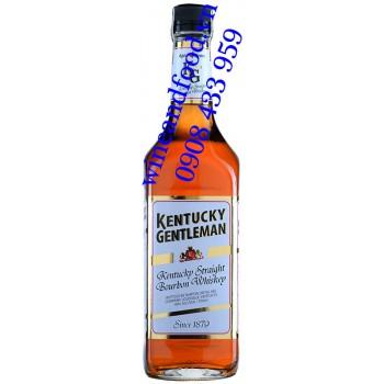 Rượu Kentucky Gentleman Whiskey Bourbon 4 năm 750ml