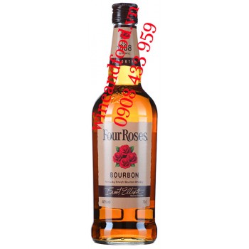 Rượu Kentucky Straight Bourbon Whiskey Four Roses 70cl