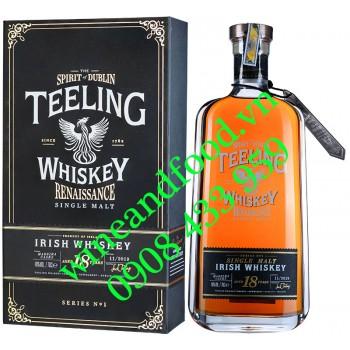 Rượu Teeling 18 năm Single Malt Irish Whiskey Series No1 70cl