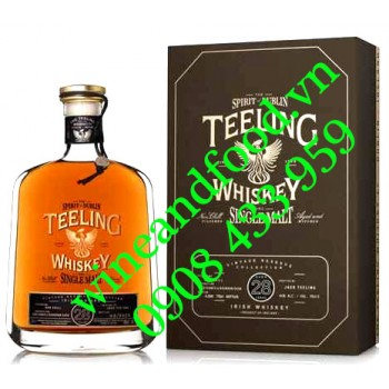 Rượu Teeling 28 năm Single Malt Irish Whiskey 70cl