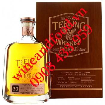 Rượu Teeling 30 năm Single Malt Irish Whiskey 70cl