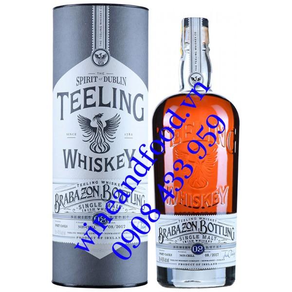 Rượu Teeling Brabazon Bottling Series 02 Irish Whiskey 70cl