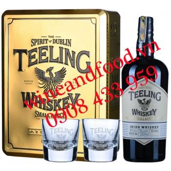 Rượu Teeling Small Batch Irish Whiskey hộp quà vàng 70cl
