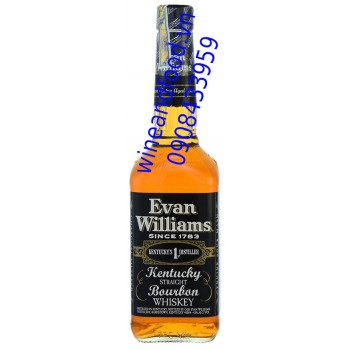 Rượu Whiskey Borbon Evan Williams 750ml