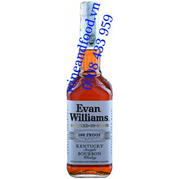 Rượu Whiskey Bourbon Evan Williams Bottled in Bond 750ml
