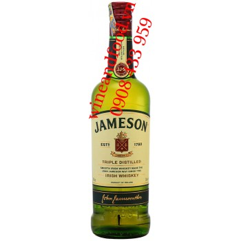 Rượu Irish Whiskey Jameson 700ml