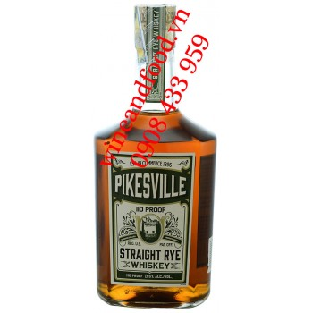 Rượu Whiskey Pikesville Straight Rrye 750ml