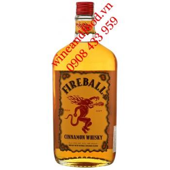 Rượu Fireball Cinnamon Whisky 750ml
