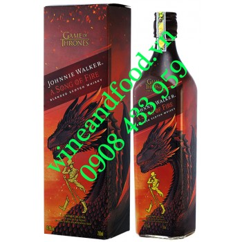 Rượu Johnnie Walker A Song Of Fire Game Of Thrones 750ml